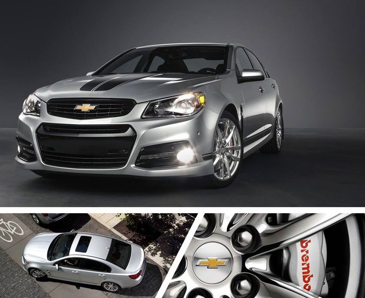 Chevy SS sedan. 0-60 in 4.7 seconds, 415-HP.