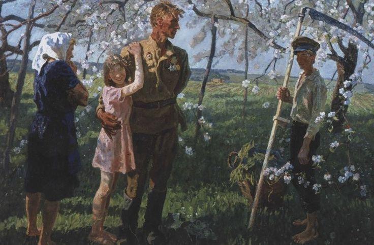 Юбилеем местом, картинки на 9 мая с солдатом со с войны вернулся домой