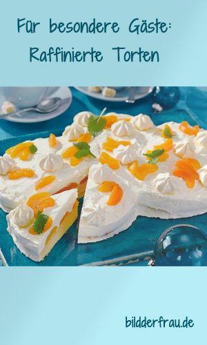 Diese Torten machen ganz schön was her! http://www.bildderfrau.de/rezepte/raffinierte-torten-d58894c658285.html  #tortenrezepte #kuchenrezepte