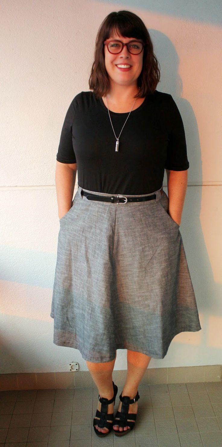 24 besten Sewaholic Hollyburn Skirt Bilder auf Pinterest ...