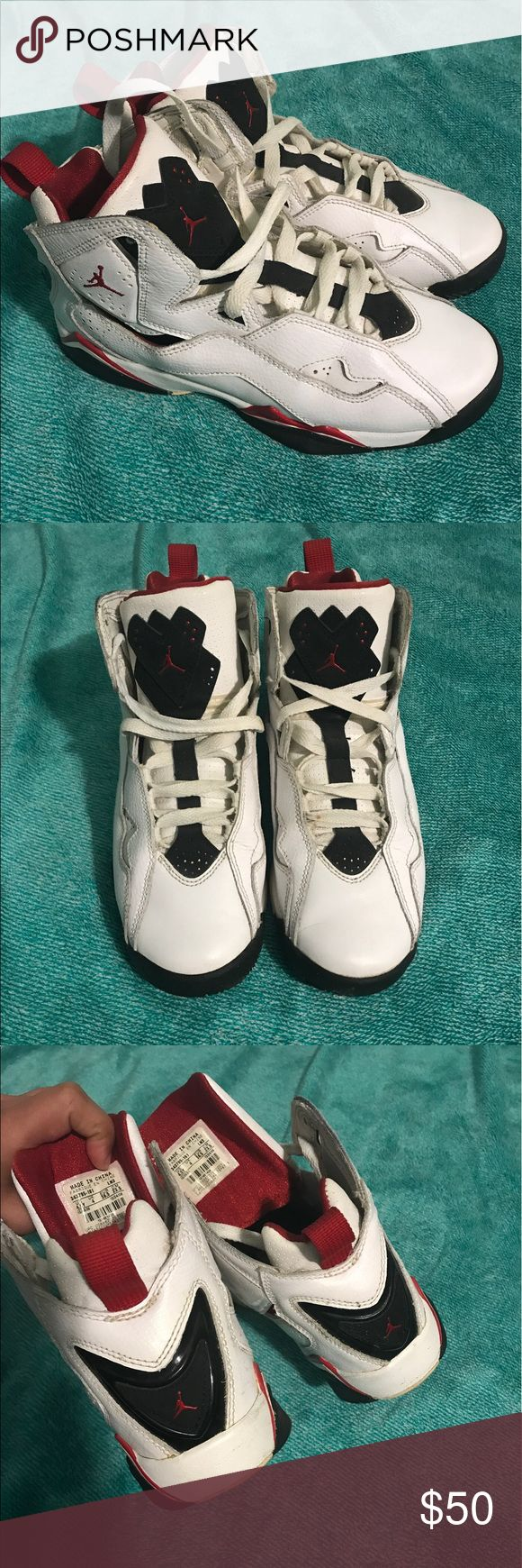 Jordans True Flight In great condition, any questions feel free to ask, Can fit WOMAN 6.5 - 7. Jordan Shoes Sneakers