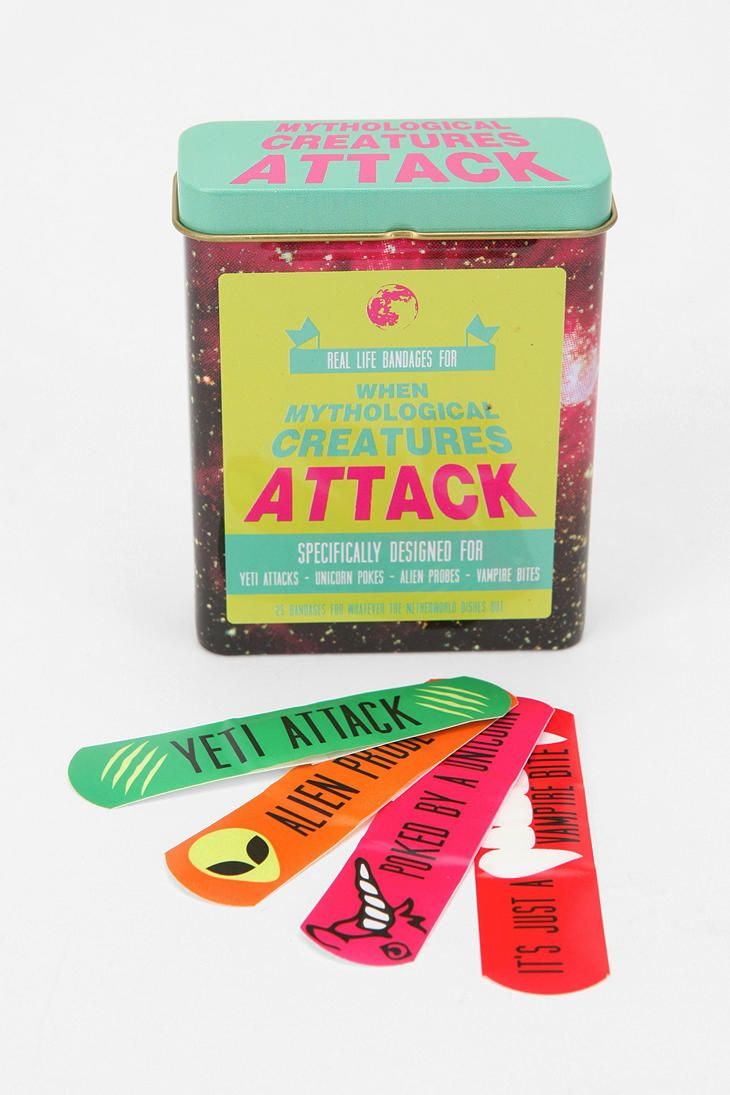 Creature Attack Bandages - Makes me think of Jaime Hlavin :)