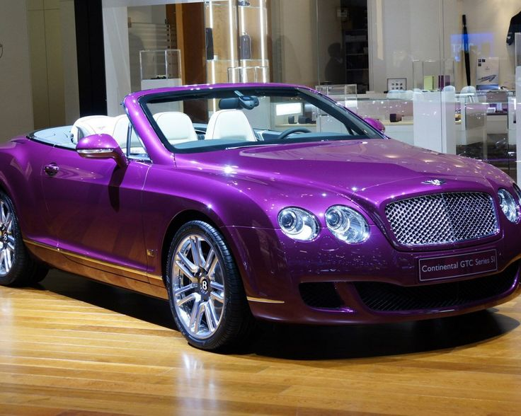 Bentley Continental - Absolutely! It's very me.