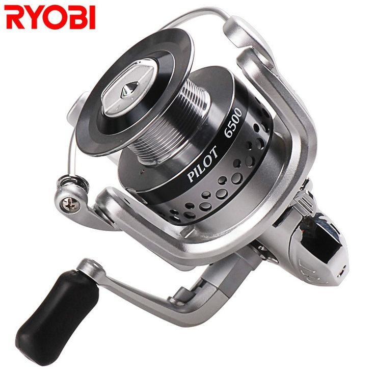 32.63$  Buy here  - 100% RYOBI 6+1BB Spinning Fishing Reels 1500-6500 Series Moulinet Peche for Carp Weeve Feeder Carretilha Para Pesca Fish Tackle