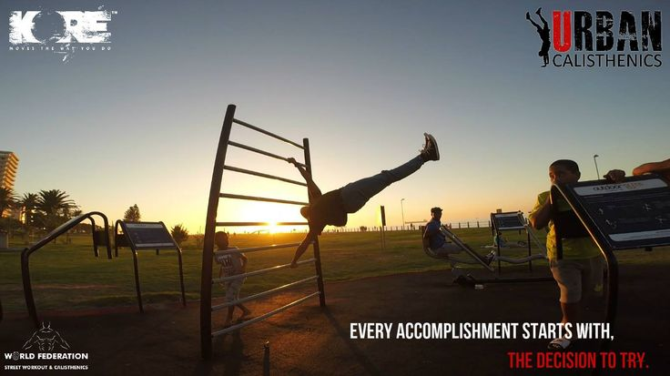 Monday motivation. To have something you've never had, you must do something you've never done. Step out of your comfort zone and try something new. Like and share to spread the motivation. #fitness #outdoors #capetown #urbanmotivation #urbancal #humanflag #wswcf #kore #streetworkout #calsithenics #KingOfTheBar
