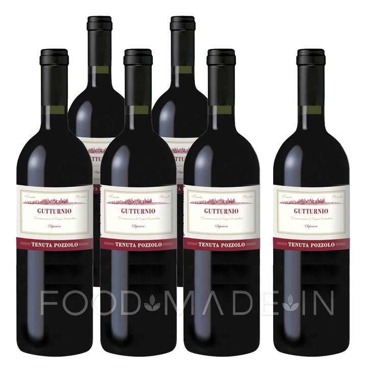 "Gutturnio Superiore Tenuta Pozzolo DOC 2013 Wine known at the time of the Ancient Romans, ""Gutturnium Placentiae"", qualified wine of Pregio in 1941, became DOC in 1967, born by the mix of our grapes DOC Barbera 60% and Bonarda (Croatina) 40% produced by our specialized vineyards in the hills of Ziano Piacentino."