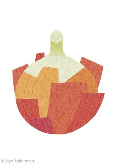 Like his food theme illustrations - Ryo Takemasa
