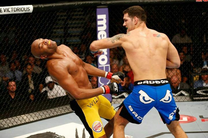 The shot heard round the world...weidman just out the division on notice