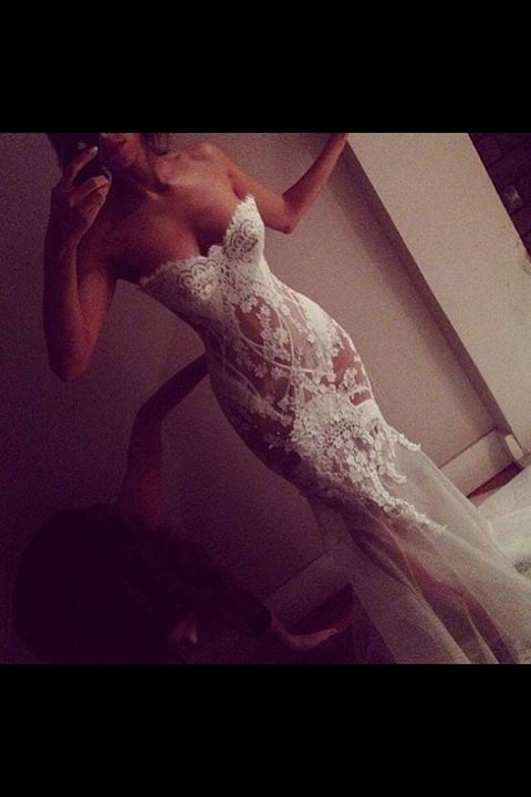 Sexiest wedding dress on the entire planet!!!