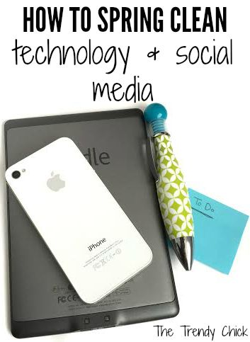 How to spring clean technology and social media