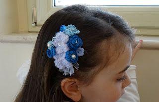 Angela Patella Handmade: Fermaglio azzurro