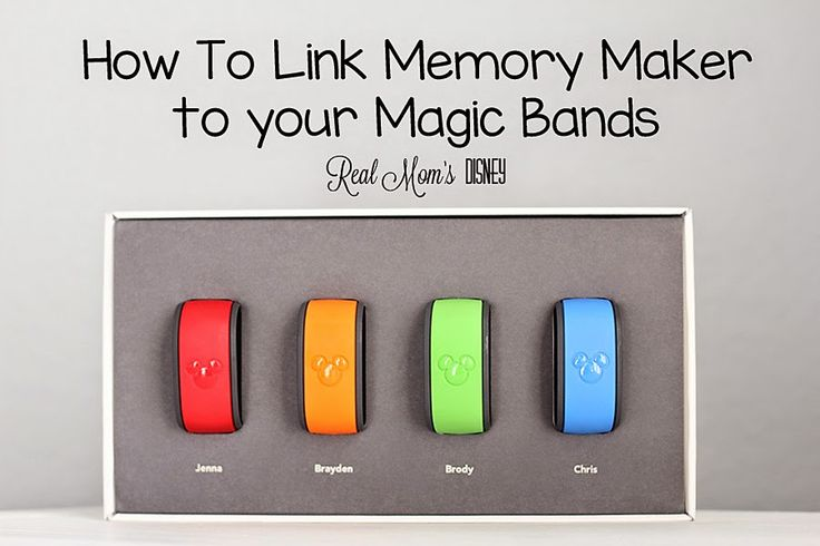 How to link Memory Maker to your Magic Band