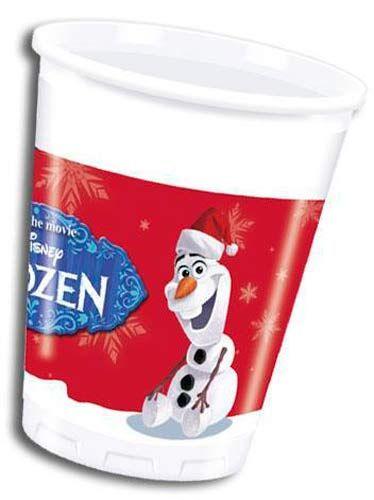 Christmas Olaf Plastic Cups 8pk Christmas Tableware Christmas Party Supplies Christmas