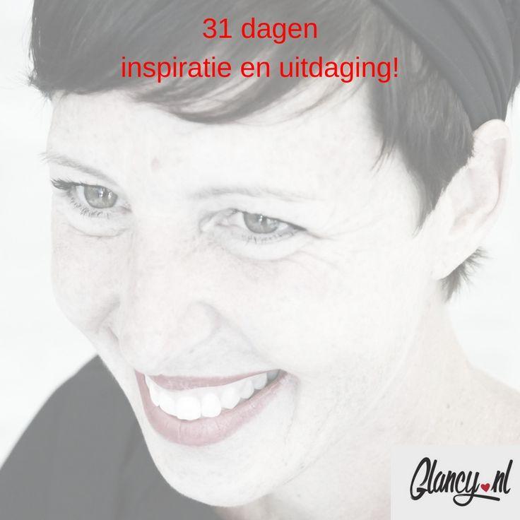 Vanaf 1 maart: 31 dagen inspiratie & uitdaging, iedere ochtend in jouw mailbox, als je je NU aanmeldt op www.glancy.nl/21-fantastische-tips