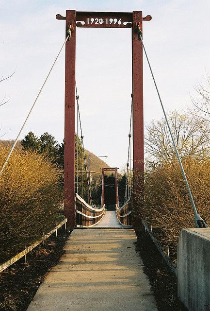 Swinging Bridge  Covered Bridges of Hershey Harrisburg and Perry County, PA | History and heritage | HHRVB