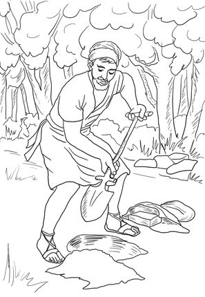 Parable of the Talents coloring page - http://jackravenbooks.com/wp/index.php/2015/07/30/the-x-factor-code-revolutionary-sex-appeal-intensification-system-2/
