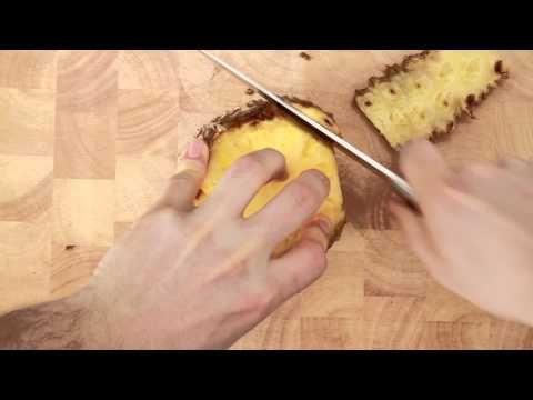Ananas schillen en snijden - Allerhande