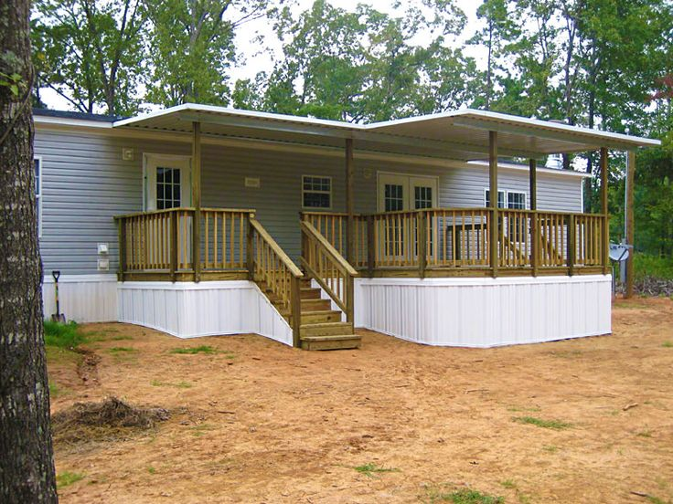 Years And Years Ago The Most Common Type Of Skirting For Manufactured Homes Was Metal
