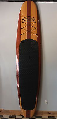 Beautiful All Wood Design, light weight, Three Brothers Boards SUP Paddle Board