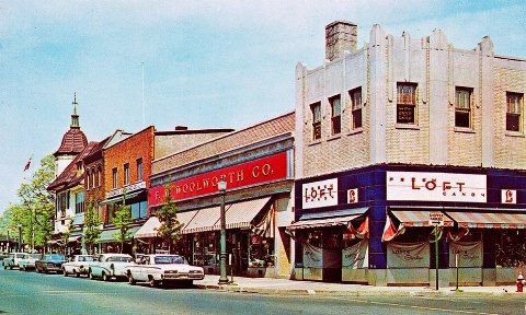 woolworth s ridgewood  nj in the 1960 s my way back treehouse camping nj treehouse rentals nj