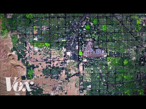 This time lapse shows just how much humans are altering the planet