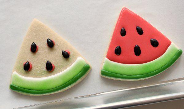 Watermelon Slice Cookies_SweetSugarBelle