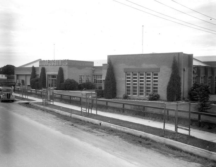 1952 Latoof and Callil Pty Ltd factory at Benalla. VicRoads Centenary 1913 - 2013. www.vicroads.vic.gov.au