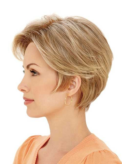Layered Short Haircuts for Straight Fine Hair