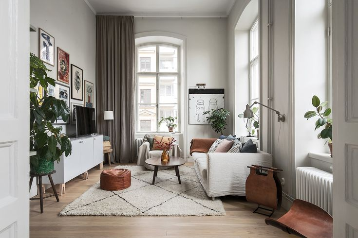 Gravity Home: Scandinavian Living Room