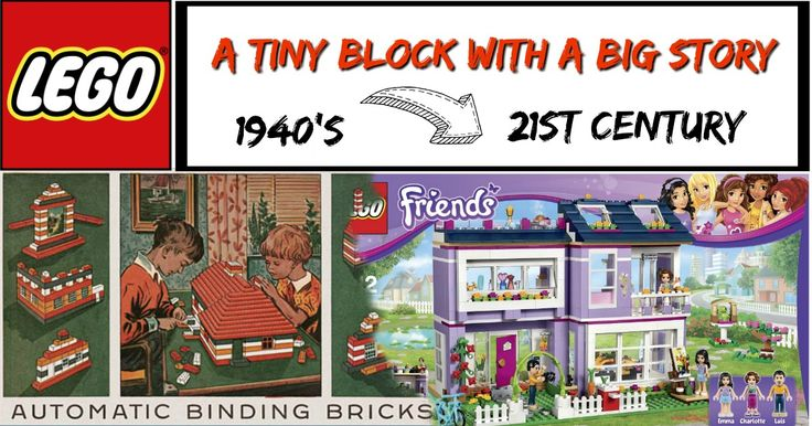 LEGO – A little block, with a big story. Today it continues to entertain the young and old.