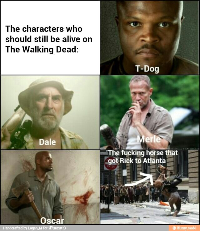 Funny Meme Characters : Walking dead characters ifunny the