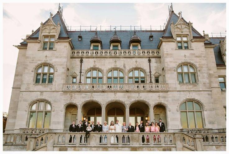 Ochre Court wedding ceremony Newport, RI