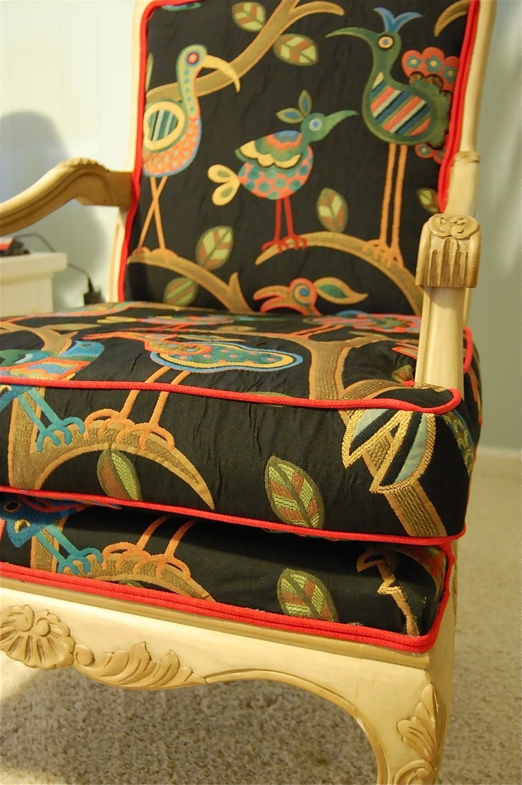 Thinking Of Redoing Chair In Bedroom In The Crazy Ol Bird