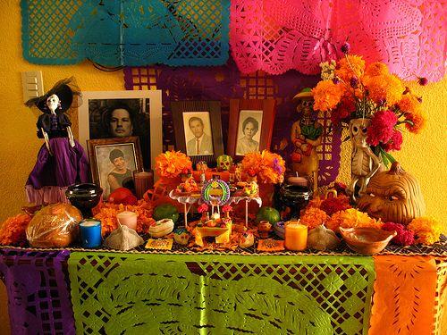 Ofrenda de día de muertos | Flickr - Photo Sharing!