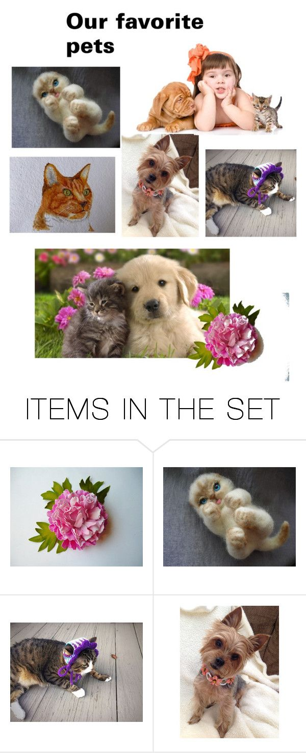 Our favorite pets by varivodamar on Polyvore featuring картины and modern