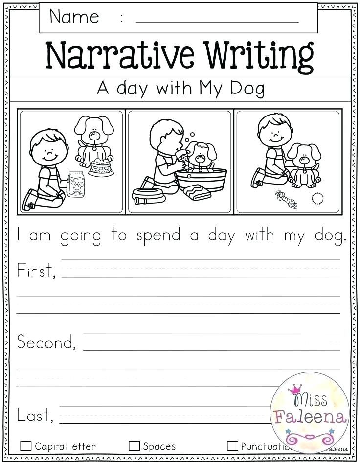 Printable Kindergarten Worksheets Free writing prompts