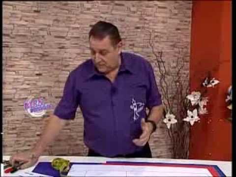 Hermenegildo Zampar - Bienvenidas TV - Explica el Molde base para Telas de Punto. - YouTube