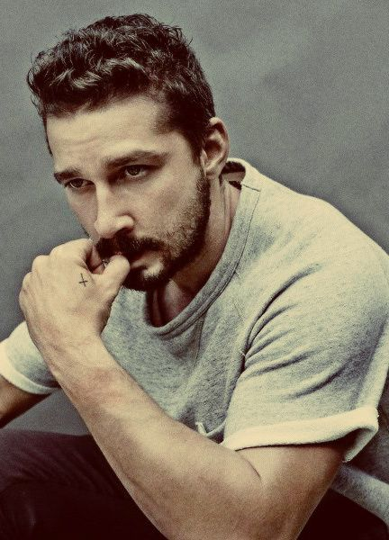 shia labeouf has the most expressive eyes ..  incredibly funny and true  wish to see him and ben foster in a movie together