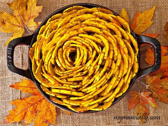 Thanksgiving Recipes � Roasted Squash Blossom