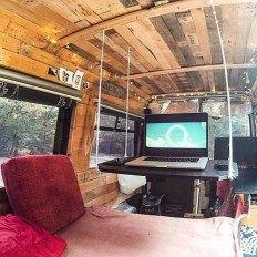 Luxury Van Life Interior Design Ideas (11)