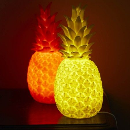 Luminous Pineapple Lamps - Pattern & Colour - Treat Your Home - Home Accessories