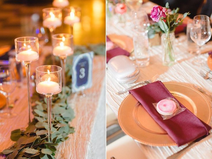 Romantic and whimsical wedding decor with geode theme