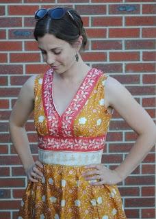One Small Stitch: Sari Dress