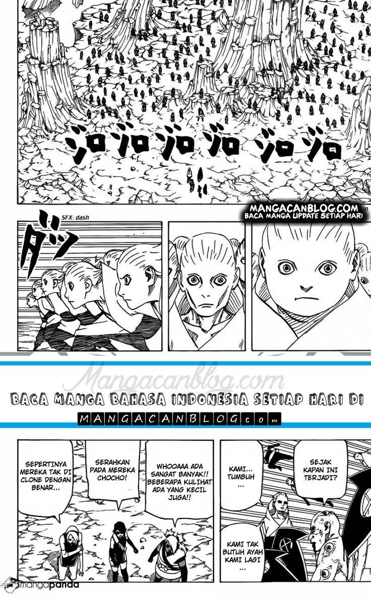 Manga naruto gaiden chapter 710