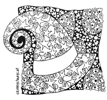 halloween therapy coloring pages   99 best Art Therapy images on Pinterest   Colouring pages ...