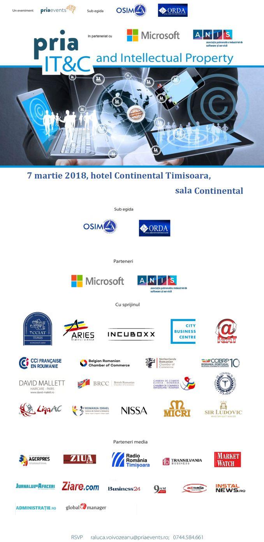 ORDA vine la Timișoara pentru a discuta cu dezvoltatorii de software și aplicații în cadrul PRIA IT&C and Intellectual Property în 7 martie la hotel Continental     Actualitatea Online