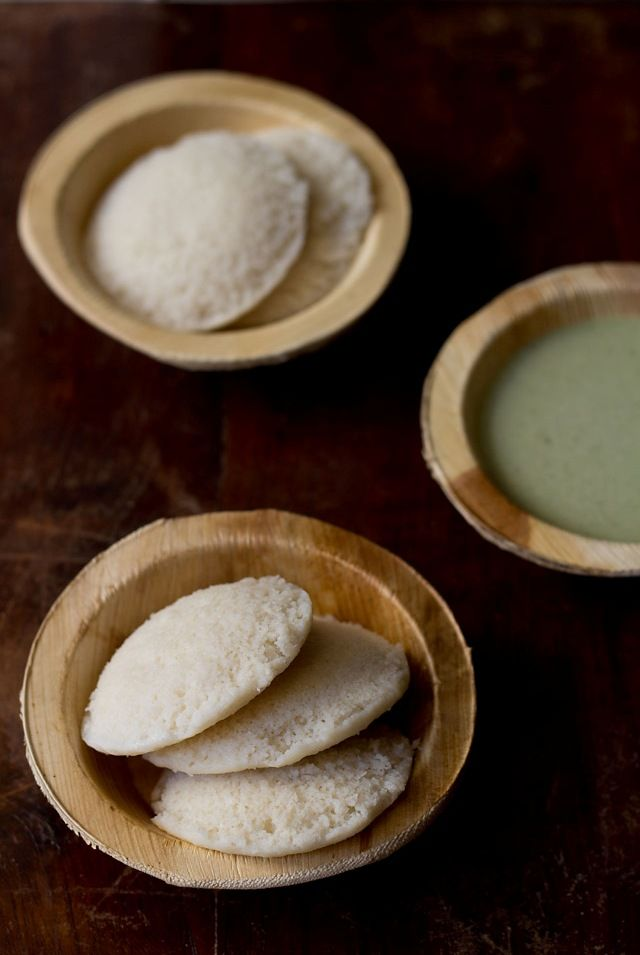 Ultra soft idlis made with cooked rice or left over rice. Delicious way to use left over rice. Oh, and they're GLUTEN FREE!