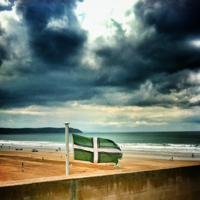 I took this photograph in Woolacombe, Devon in June 2012.