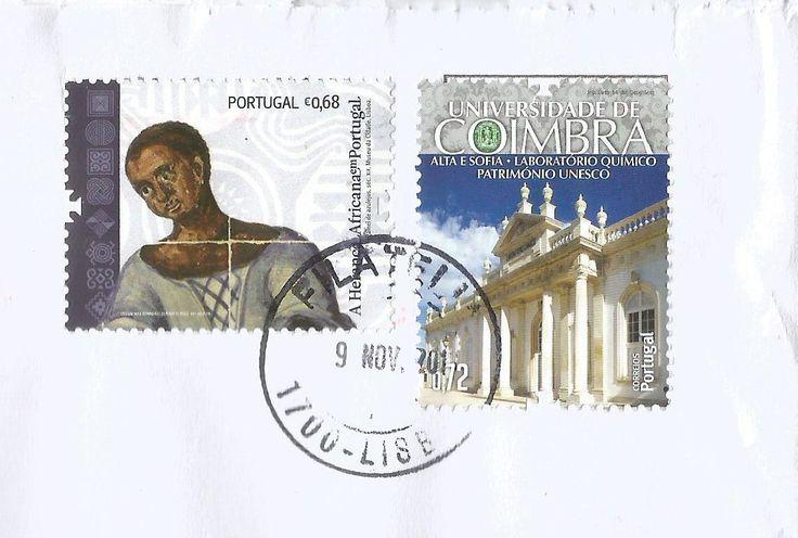 A Herança Africana em Portugal - taxa 0,68€ - 27/04/2009  http://www.wnsstamps.post/en/stamps/PT025.09