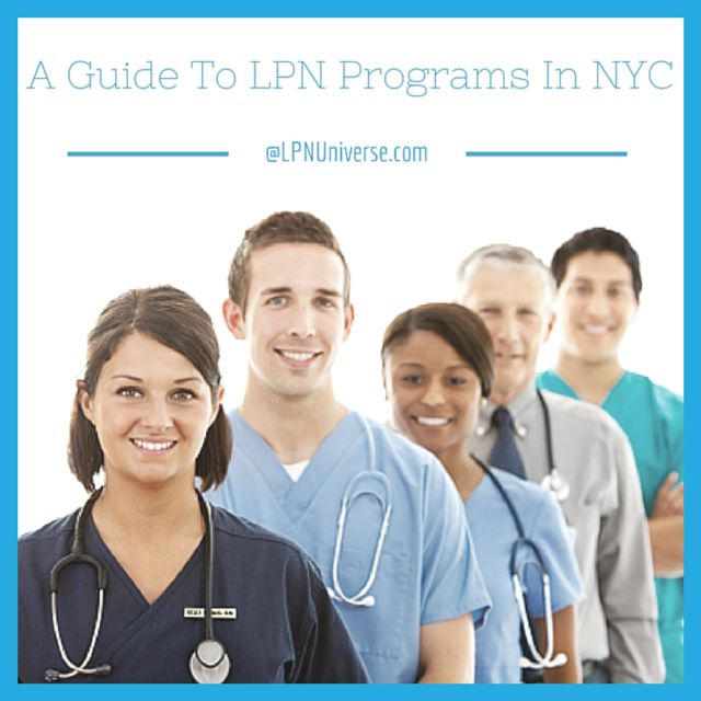 LPN Programs in NYC